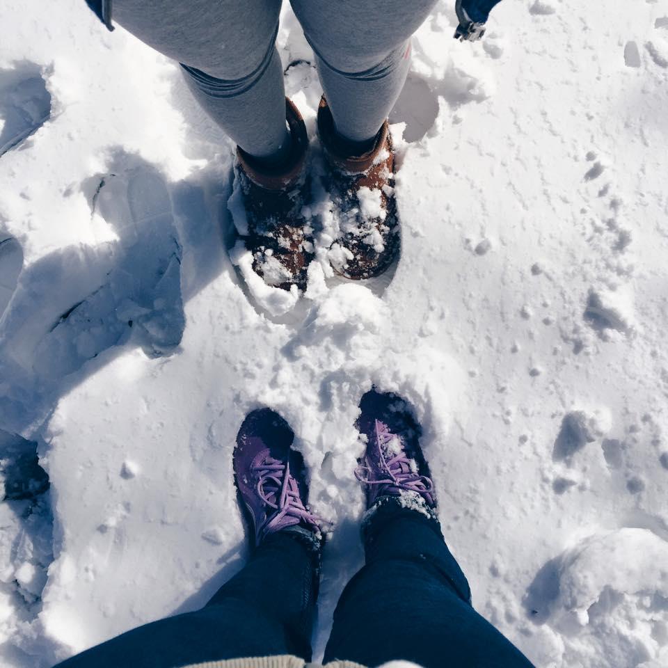 Hồi này sung sướng lắm, vừa được nghỉ học lại vừa có tuyết rơi =))